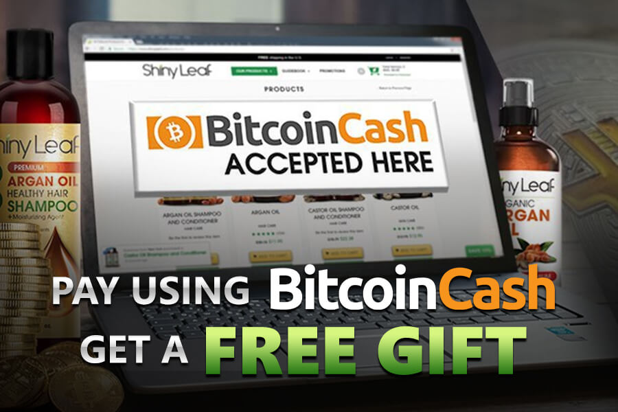 Shiny Leaf Announces Bitcoin Cash Support & Free Gift for All Who Use It to Pay