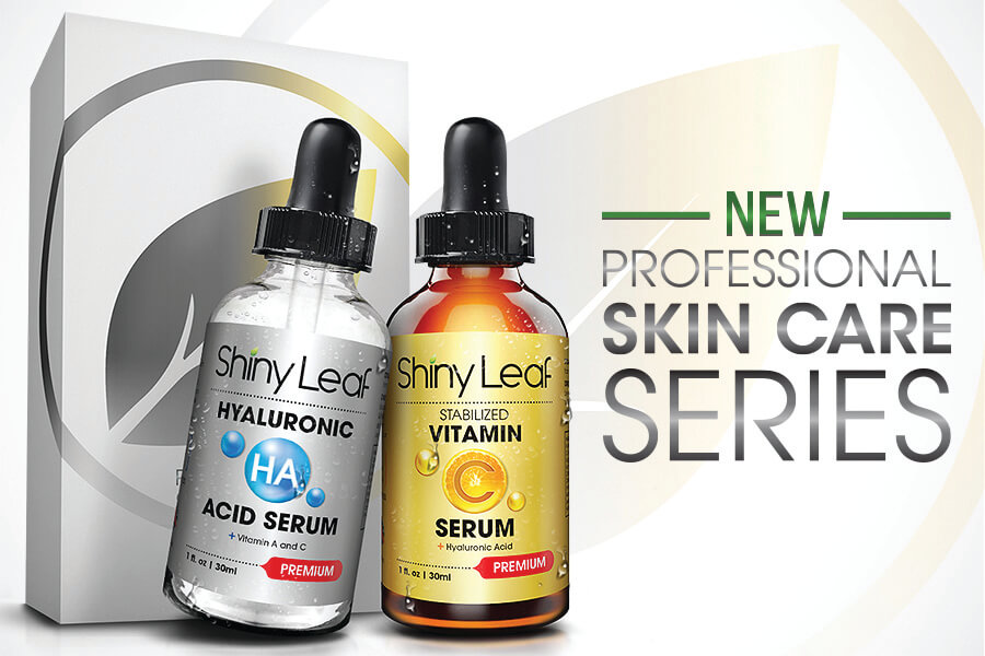 Shiny Leaf Releases NEW Professional Skin Care Series
